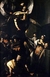 391px-Caravaggio_-_Sette_opere_di_Misericordia_(1607,_Naples)