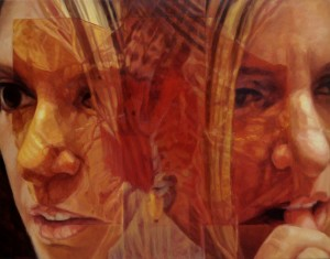 1 - Consunzione, 2010, olio su tela, 90 x 115 cm