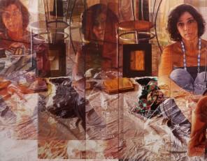 8 - Il Risveglio, 2014, olio su tela, 90 x 115 cm