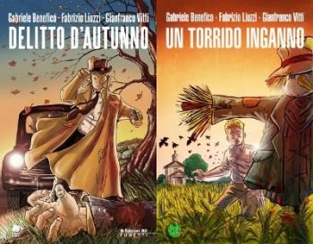 Cover dei due volumi de Le indagini di Andé Dupin