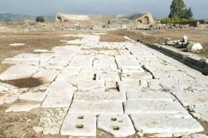 Minturno (Lt), area archeologica della citta romana di Minturnae