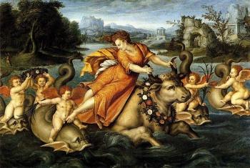 Il ratto di Europa (Jean Cousin Il Vecchio/ 1550 ca)