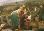 Giuseppe Sciuti, Un episodio della spedizione di Carlo Pisacane a Sapri (particolare) - 1890
