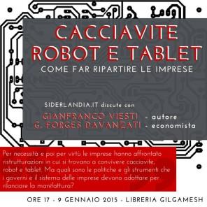 cacciavite, robot e tablet_locandina